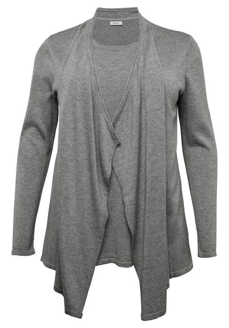 Sheego 2-in-1-Pullover in Twinset-Optik | Bekleidung > Pullover > 2-in-1 Pullover | Sheego