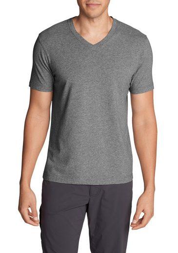 Eddie Bauer T-Shirt Lookout T-Shirt - Kurzarm mit V-Ausschnitt