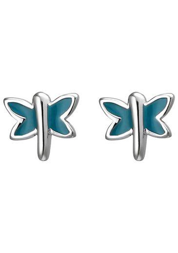JOBO Paar Ohrstecker »Schmetterling«, 925 Silber
