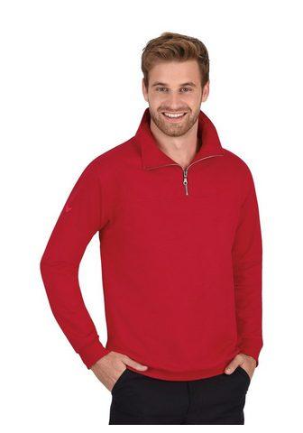 TRIGEMA Sportinio stiliaus megztinis su Užtrau...
