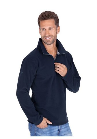 Флисовий пуловер с замок