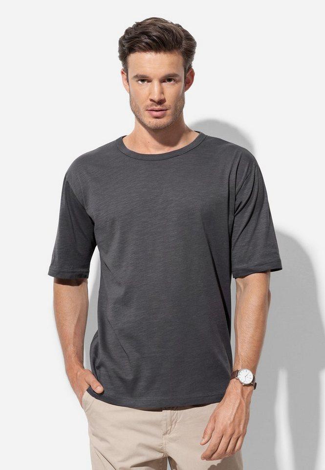 stedman -  T-Shirt aus Bio-Baumwolle mit Rundhalsausschnitt