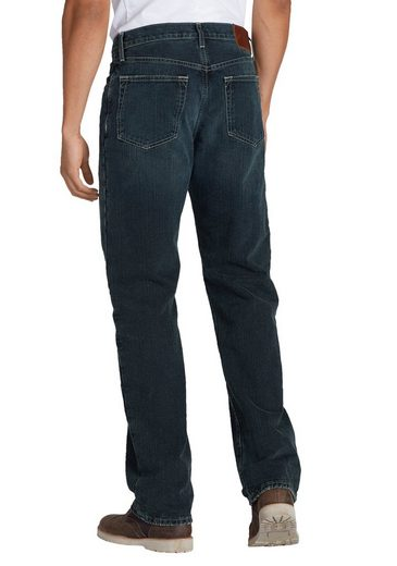 Eddie Bauer 5-Pocket-Jeans Authentic mit Flanellfutter gefüttert - Relaxed Fit