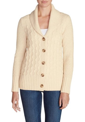 Eddie Bauer Strickjacke Cable Fable