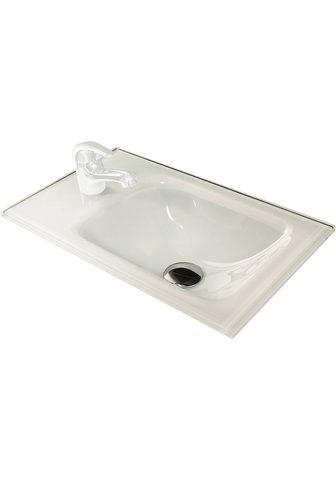Glas-Waschbecken »Gäste-WC&...