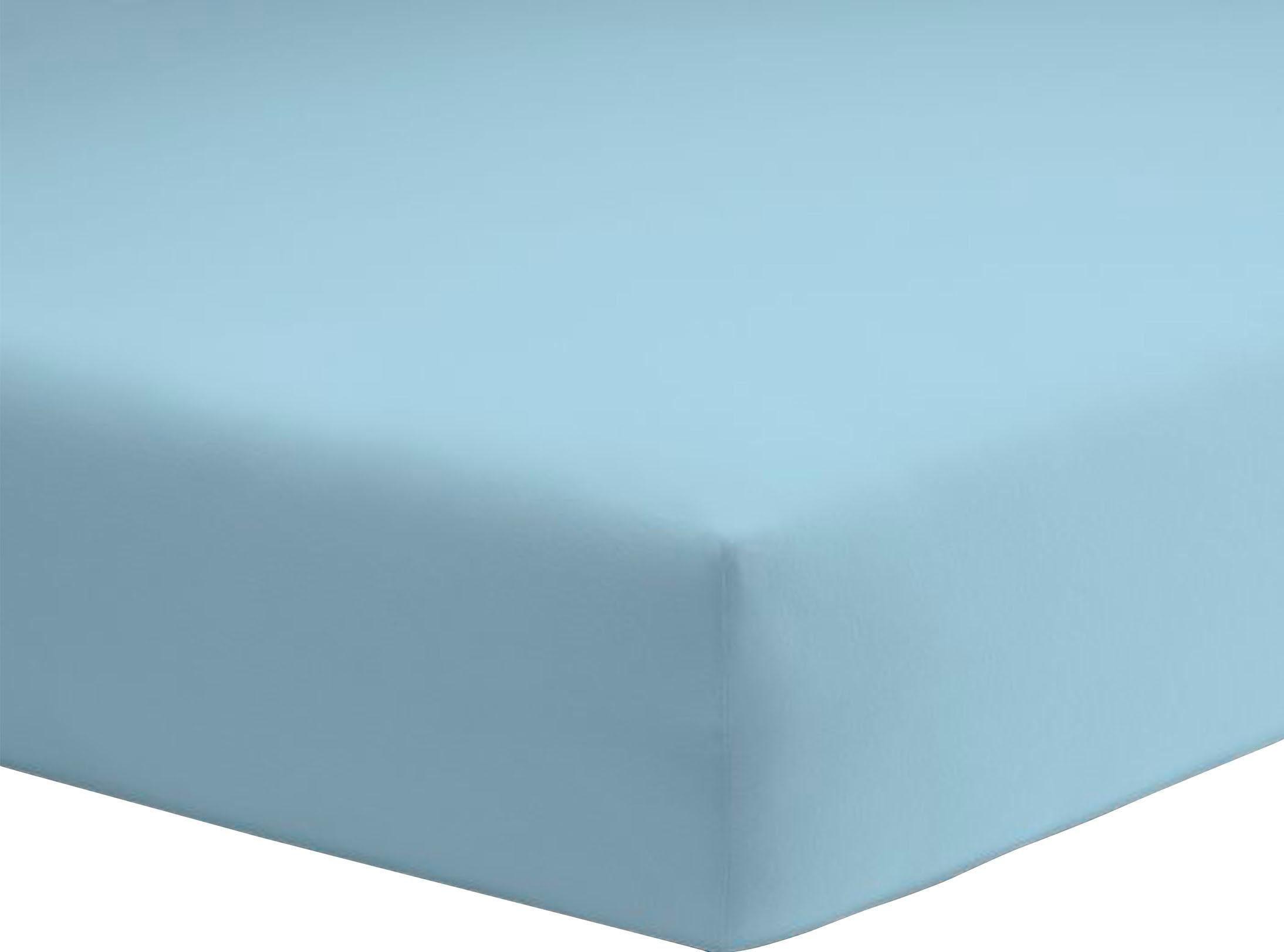 »Jersey« Spannbettlaken my home ca beere 180 x 200 cm NEU!!! für Topper
