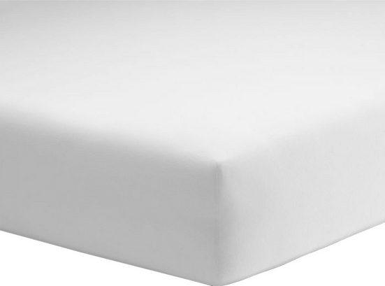 Spannbettlaken »Organic-Cotton-Jersey«, Schlafgut, aus rein biologischem Anbau