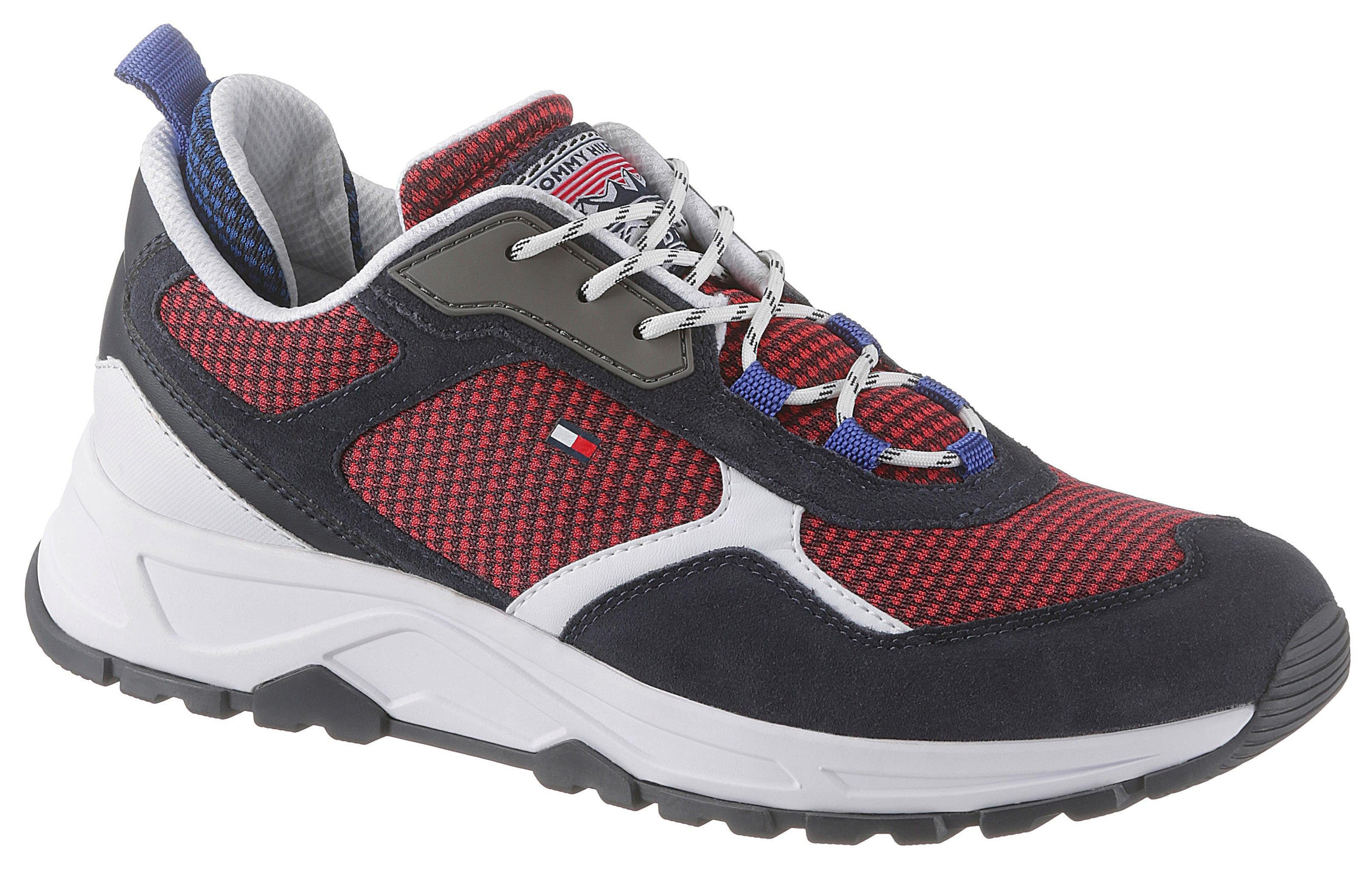 Tommy Hilfiger Corporate Material Mix Runner navyrot