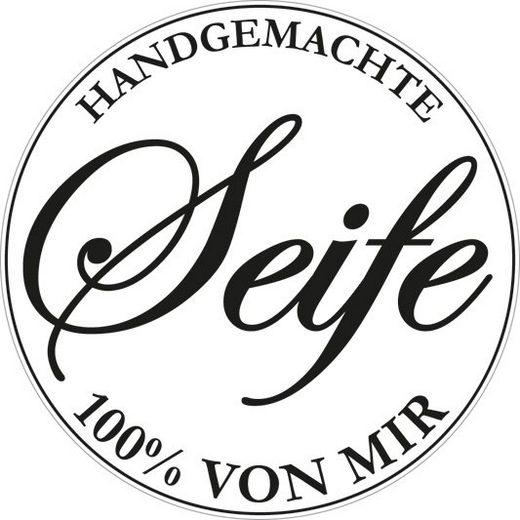 """Reliefeinlage """"Handgemachte Seife"""", Ø 45mm"""