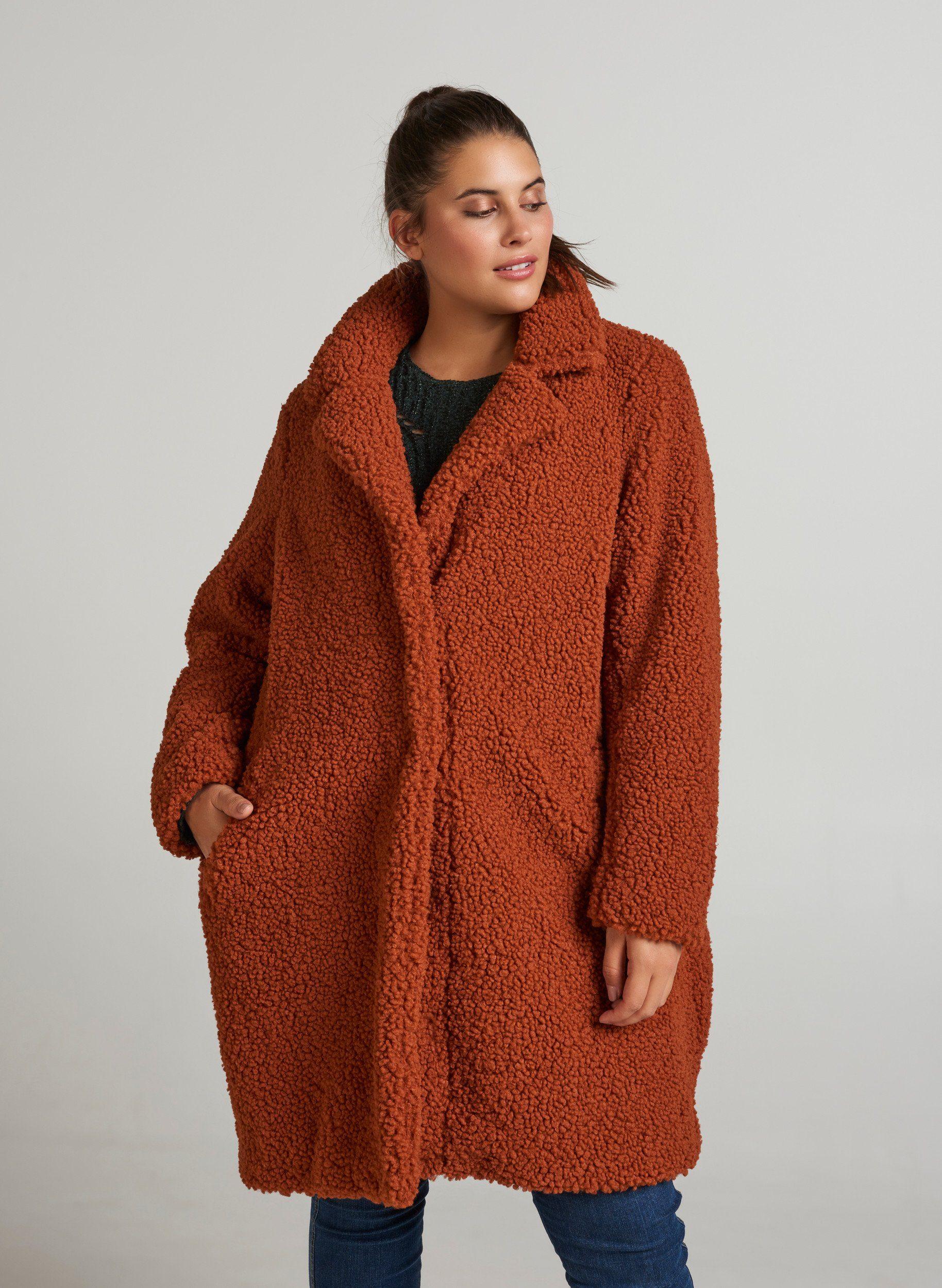Kragen Kariert kaufenOTTO Damen WintermantelKaromuster Zizzi Outdoorjacke Warm Große Größen online Mantel f6yYb7g