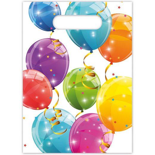 Procos Mitgebseltüten Sparkling Balloons, 6 Stück