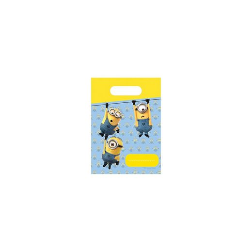Procos Mitgebseltüten Minions Lovely, 6 Stück