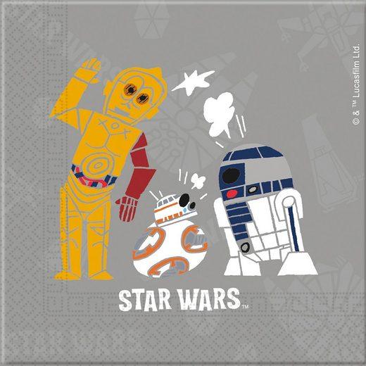 Procos Servietten zweilagig Star Wars Forces 33 x 33 cm, 20 Stück