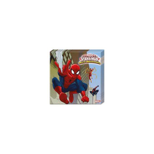Procos Servietten zweilagig Ultimate Spiderman Web Warriors 33 x 33