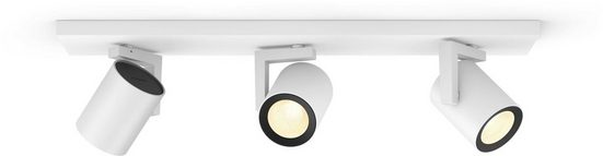 Philips Hue LED Deckenstrahler »White & Col. Amb. Argenta weiß«