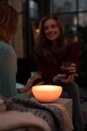 Philips Hue LED Tischleuchte »White & Col. Amb. Go weiß 520lm«