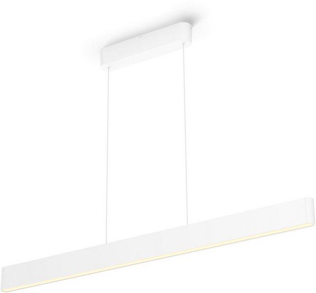 Philips Hue LED Pendelleuchte Ensis Pendelleuchte weiß 6000 Lumen