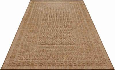 Teppich »Limonero«, bougari, rechteckig, Höhe 6 mm, In- und Outdoor geeignet, Flachgewebe, Wohnzimmer