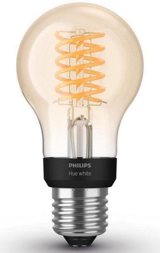 Philips Hue »White Filament Einzelpack 1x550lm« LED-Filament, E27, 1 Stück, Extra-Warmweiß