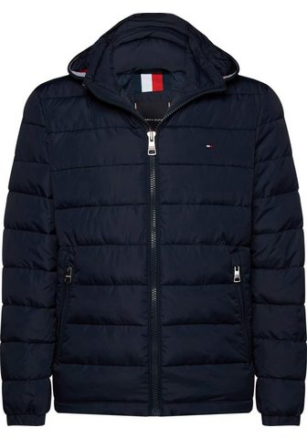 TOMMY HILFIGER Dygsniuota striukė »QUILTED HOODED Str...