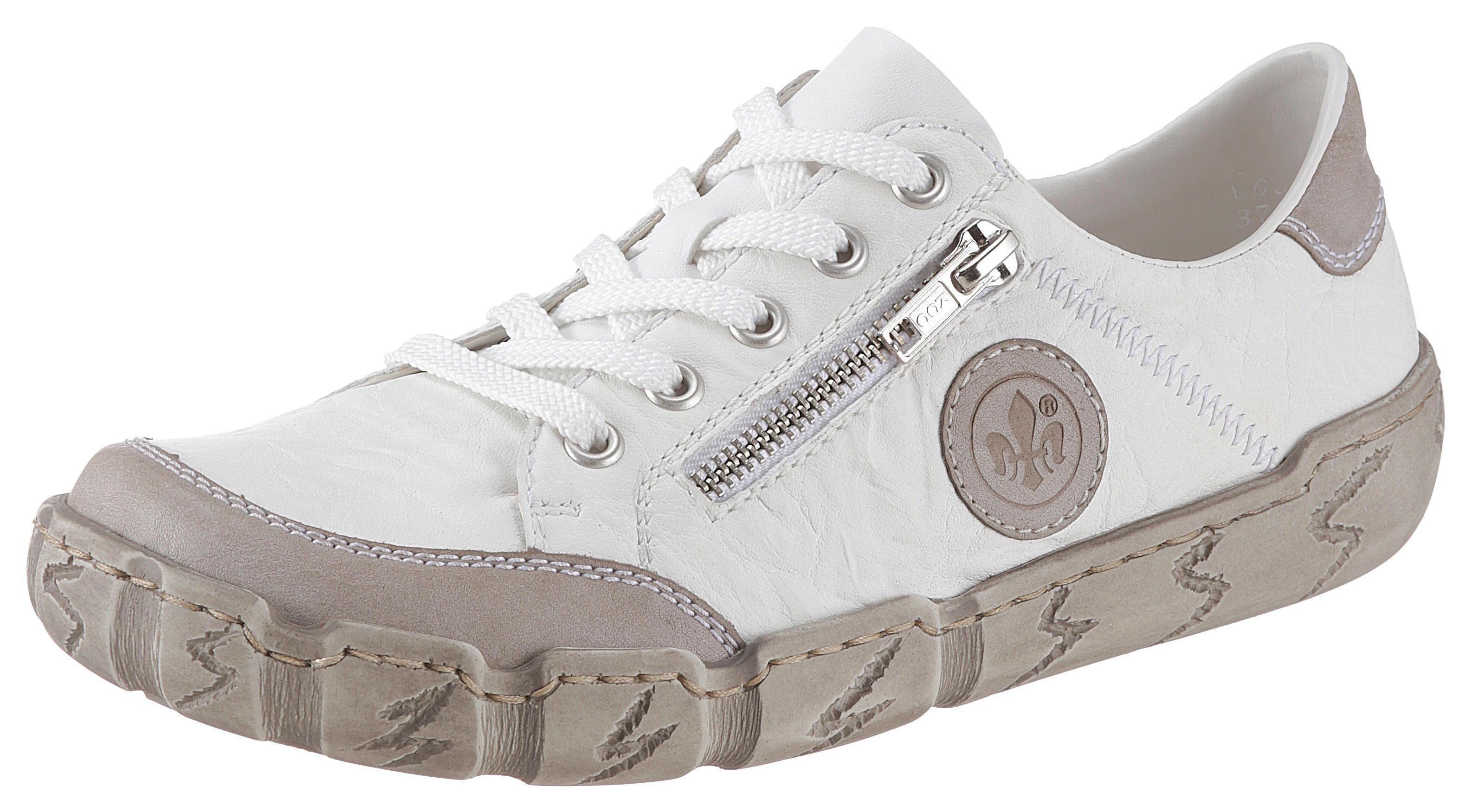 Rieker Sneaker mit Zierreißverschluss, Weich gepolsterter Schaftrand online kaufen | OTTO