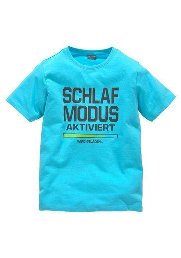 KIDSWORLD T-Shirt »Schlafmodus aktiviert« Druck