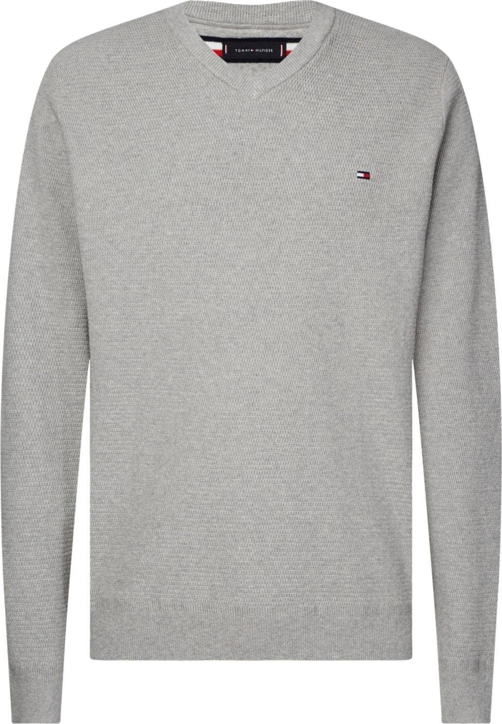 Tommy Hilfiger Big & Tall V Ausschnitt Pullover »Big & Tall COTTON STRUCTURED V NK« online kaufen | OTTO