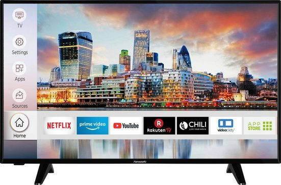 Hanseatic 43H600UDS LED-Fernseher (108 cm/43 Zoll, 4K Ultra HD, Smart-TV, HDR10)