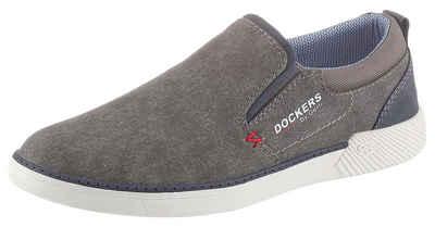Dockers by Gerli Slip-On Sneaker mit seitlichen Stretcheinsätzen
