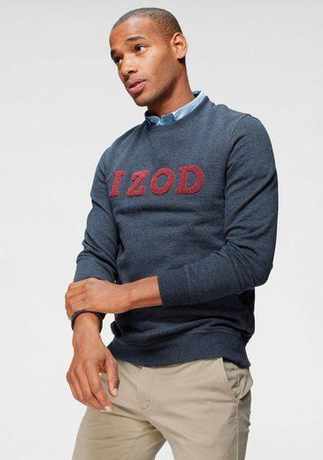 IZOD Sweater mit hochwertiger Logo-Applikation