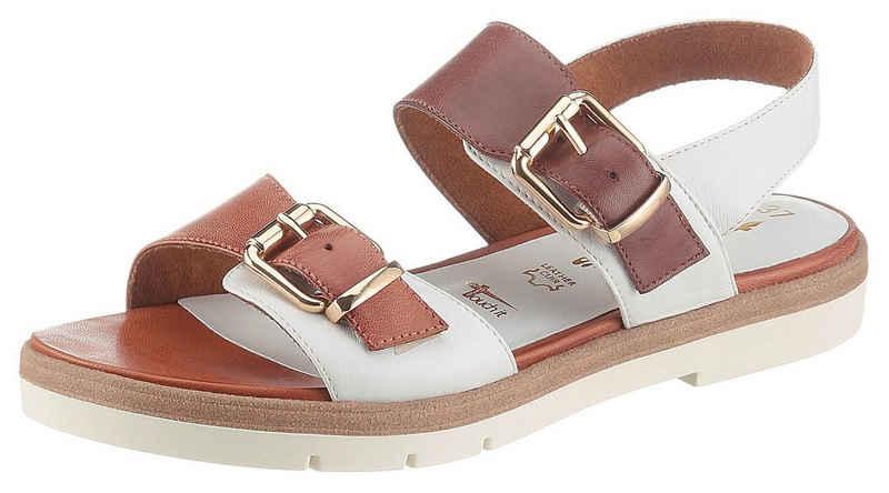 Tamaris »Pharao« Sandale mit goldfarbenen Schnallen