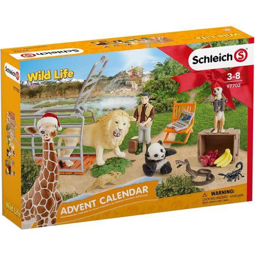 Schleich® 97702 Wild Life: Adventskalender Wild Life