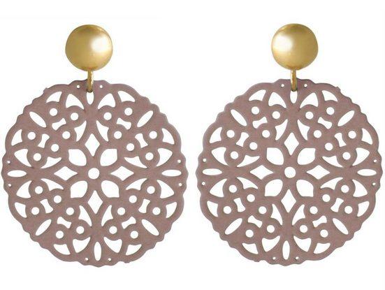 Gemshine Paar Ohrhänger »YOGA Mandala Kreis«, Made in Spain