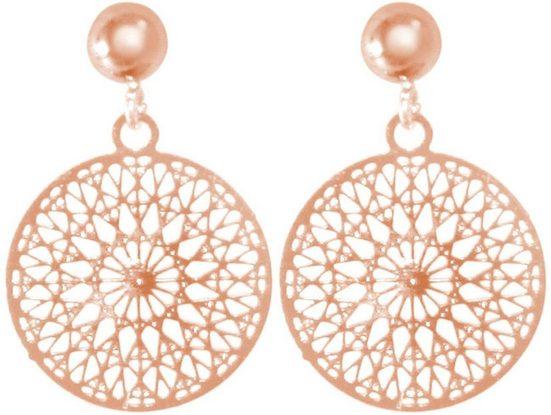 Gemshine Paar Ohrhänger »Mandala Kreis«, Made in Spain