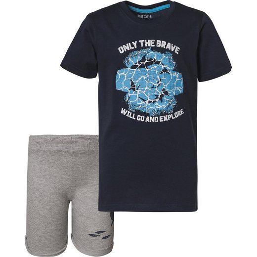 Blue Seven Set T-Shirt + Sweatshorts für Jungen