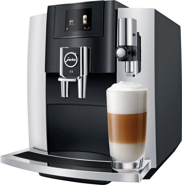 JURA Kaffeevollautomat E8 | Küche und Esszimmer > Kaffee und Tee > Kaffeevollautomaten | Jura