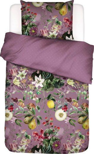 Wendebettwäsche »Mary«, Essenza, mit Blütenmuster