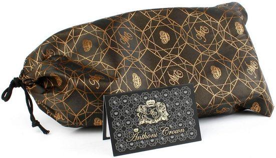 Anthoni Crown Ledergürtel Jeansgürtel genarbt