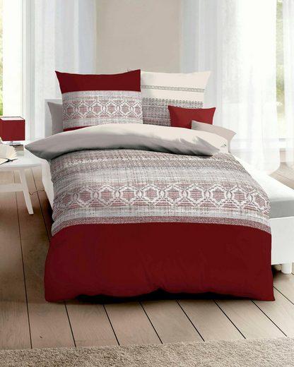 Bettwäsche »Crochet«, Kaeppel, feine Muster
