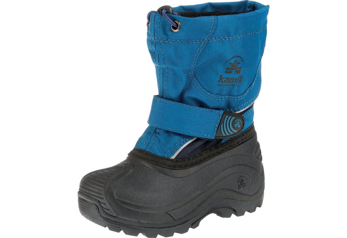 Damen,  Mädchen,  Kinder MyToys-COLLECTION Winterstiefel SNOWBLAST2 für Mädchen von kamik blau, grau | 00056551451006