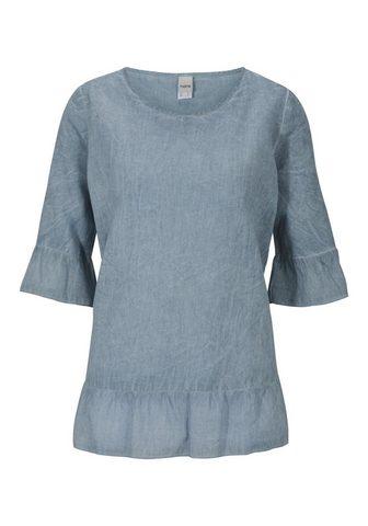 HEINE CASUAL блуза с лен