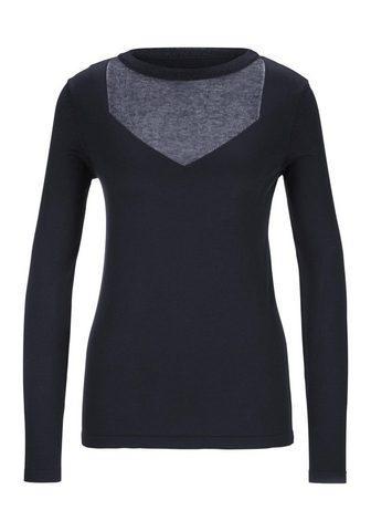 HEINE TIMELESS пуловер с Glanzgarn