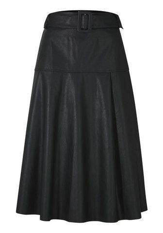 HEINE TIMELESS юбка в искусственная кожа