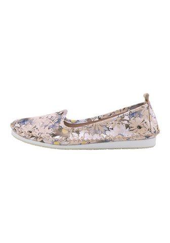 ANDREA CONTI Туфли-слиперы с цветной рисунок