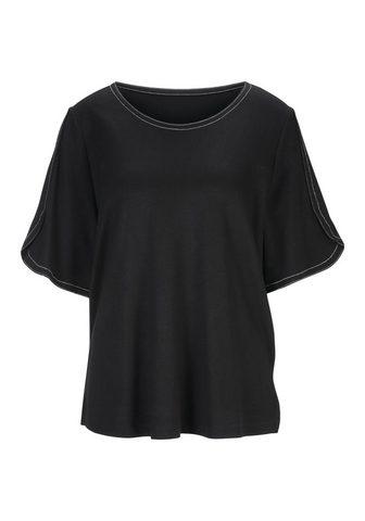 HEINE TIMELESS футболка с модный элементы