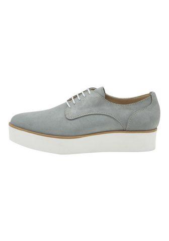 HEINE Туфли на шнуровке из Veloursleder
