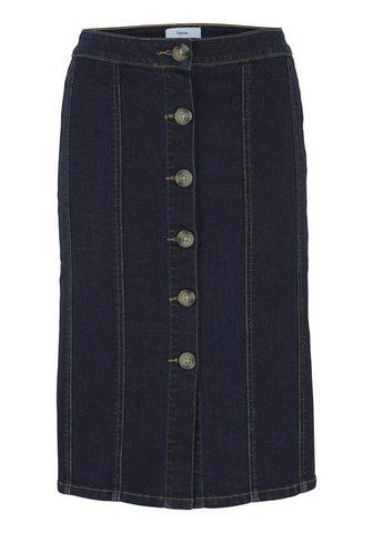 CASUAL юбка джинсовая с пуговицы