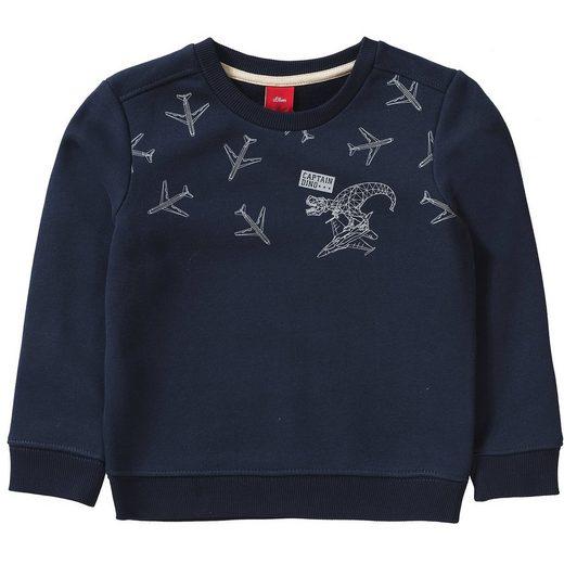 s.Oliver Sweatshirt für Jungen, Dinosaurier