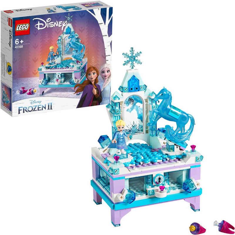 LEGO® Konstruktionsspielsteine »Elsas Schmuckkästchen (41168), LEGO® Disney Princess«, (300 St)