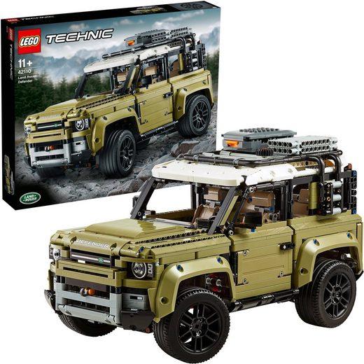 LEGO® Konstruktionsspielsteine »Land Rover Defender (42110), LEGO® Technic«, (2573 St), Made in Europe